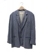 TODAYFUL(トゥデイフル)の古着「ヴィンテージサテンジャケット」|サックスブルー