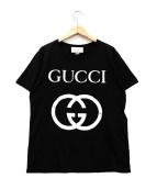 GUCCI(グッチ)の古着「インターロッキングGTシャツ」|ブラック
