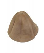 Hender Scheme(エンダースキーマ)の古着「ムートンチューリップハット」|ベージュ