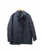 DESCENTE PAUSE(デサントポーズ)の古着「ダウンPコート」 ブラック
