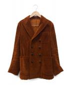 THE GIGI(ザ・ジジ)の古着「ダブルブレストジャケット」|ブラウン