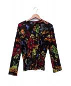 PLEATS PLEASE(プリーツプリーズ)の古着「プリーツジャケット」|マルチカラー