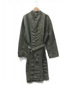Porter Classic(ポータークラシック)の古着「SUPER NYLON MASH COAT」|グリーン