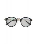 OLIVER PEOPLES(オリバーピープルズ)の古着「眼鏡」|ブラック×ゴールド