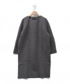 SOFIE DHOORE(ソフィードール)の古着「ウールワンピース」|グレー
