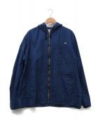 Porter Classic(ポータークラシック)の古着「ジップアップジャケット」 ブルー