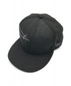 ()の古着「ベースボールキャップ」 ブラック