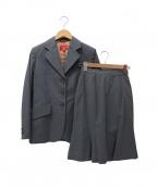 Vivienne Westwood RED LABEL(ヴィヴィアンウエストウッドレッドレーベル)の古着「セットアップスーツ」|グレー