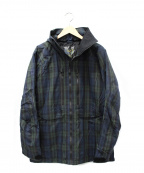 BURTON(バートン)の古着「ジップジャケット」|グリーン×ネイビー