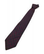 ()の古着「ネクタイ」|レッド×ネイビー
