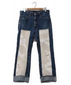 LEVIS × DASHIEL BRAHMANN(リーバイス × ダシールブラフマン)の古着「デニムパンツ」 インディゴ