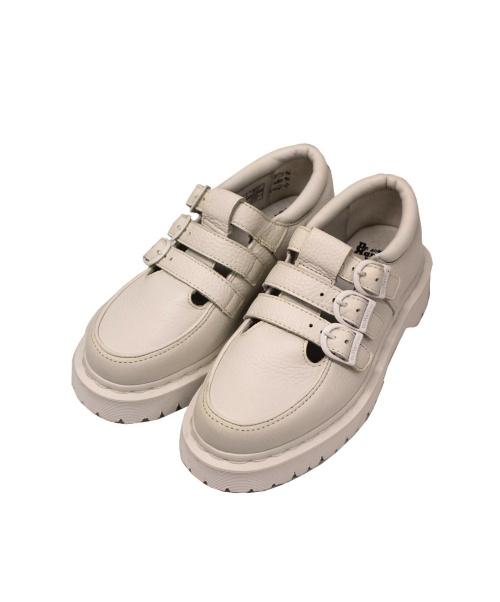 Dr.Martens(ト゛クターマーチン)Dr.Martens (ドクターマーチン) 厚底シューズ ホワイト サイズ:UK 4/EU 37の古着・服飾アイテム