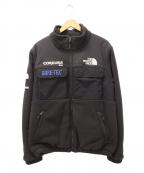 Supreme × THE NORTH FACE(シュプリーム × ザノースフェイス)の古着「エクスペディションフリースジャケット」|ブラック
