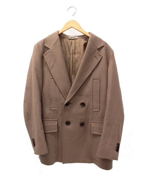 AURALEE(オーラリー)AURALEE (オーラリー) ライトメルトンハーフコート ブラウン サイズ:3 A9AJ02LMの古着・服飾アイテム