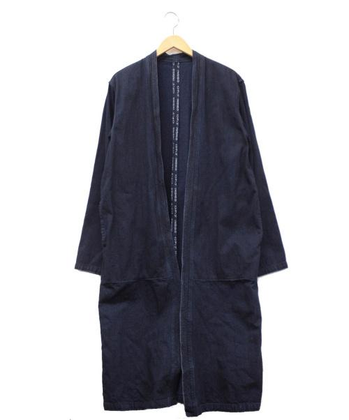 KAPITAL(キャピタル)KAPITAL (キャピタル) カカシコート インディゴ サイズ:3の古着・服飾アイテム