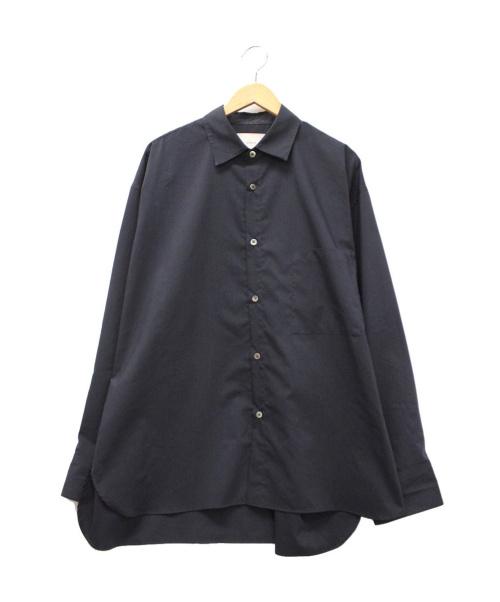 stein(シュタイン)stein (シュタイン) オーバーサイズダウンパッドシャツ ネイビー サイズ:S  198-1 の古着・服飾アイテム