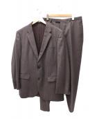 BOSS HUGO BOSS(ボス ヒューゴ ボス)の古着「セットアップスーツ」|ブラウン