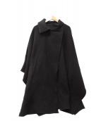Ameri VINTAGE(アメリビンテージ)の古着「オーバーポンチョ」|ブラック
