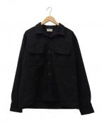 Joe McCOY()の古着「フラップポケットジャケット」 ブラック