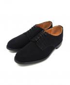 Lloyd footwear(ロイドフットウェア)の古着「スウェードドレスシューズ」|ブラック
