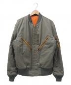 THE REAL McCOYS(ザ リアルマッコイズ)の古着「フライトジャケット」 オリーブ