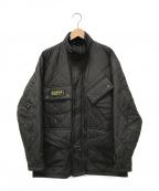 Barbour(バーブァー)の古着「インターナショナルキルティングジャケット」|ブラック