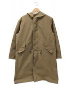 Traditional Weatherwear(トラディショナルウェザーウェア)の古着「フリースライナーフーデッドコート」|ベージュ