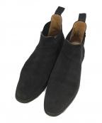 Crockett & Jones(クロケット&ジョーンズ)の古着「サイドゴアブーツ」|ブラック