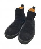 HENDER SCHEME(エンダースキーマ)の古着「サイドゴアブーツ」|ブラック