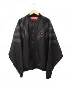JORDAN(ジョーダン)の古着「SRT LEGACY AJ6 NYLON JACKET」|ブラック