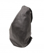 discord Yohji Yamamoto(ヨウジヤマモト)の古着「Tuck Back Pack BIG Soft Leathe」|ブラック