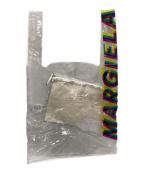 MARTIN MARGIELA(マルタン・マルジェラ)の古着「ロゴプリントPVCクリアショッピングバッグ」|クリア