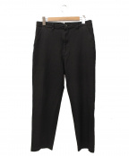 JUNYA WATANABE MAN(ジュンヤワタナベマン)の古着「ポリ縮絨パンツ」 ブラック