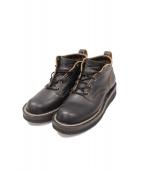 NICKS BOOTS(ニックスブーツ)の古着「オックスフォードブーツ」 ブラック