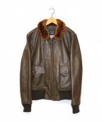 AVIREX(アヴィレックス)の古着「G-1フライトジャケット」|ブラウン