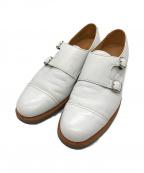 SANDERS(サンダース)の古着「ダブルモンクシューズ」|ホワイト
