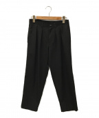 tricot COMME des GARCONS()の古着「ウールギャバパンツ」 ブラック