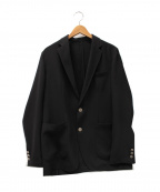SOPH.(ソフ)の古着「HOPSACK 2BUTTON JACKET」|ブラック