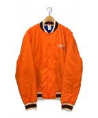 ()の古着「スタジャン」|オレンジ
