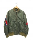 FACETASM()の古着「MA-1ジャケット」 オリーブ