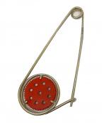 LOEWE()の古着「Meccano Pin(メカノピン)」|シルバー×レッド