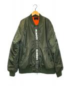 ()の古着「中綿ブルゾン」|オリーブ