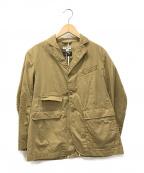 Engineered Garments()の古着「3Bワークジャケット」|ベージュ