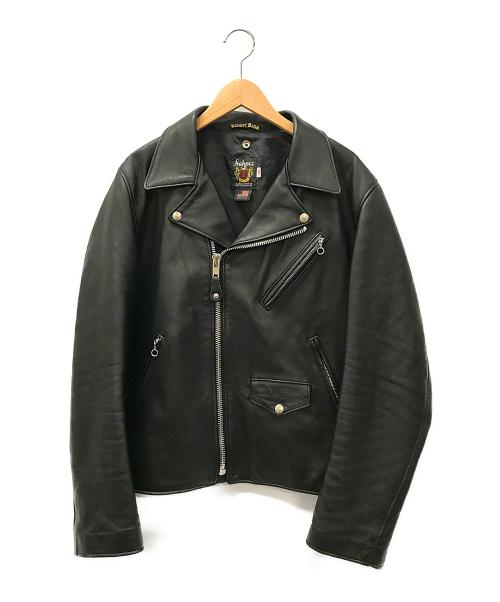 Schott(ショット)Schott (ショット) ダブルライダースジャケット ブラック サイズ:42の古着・服飾アイテム