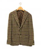 Brilla per il gusto(ブリッラ ペル イルグースト)の古着「チェックジャケット」|ブラウン