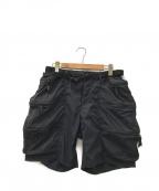 alk phenix(アルクフェニックス)の古着「container shorts」|ブラック