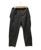 alk phenix(アルクフェニックス)の古着「noren pants」|グレー