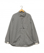 alk phenix(アルクフェニックス)の古着「crank shirt / hi-tech Seersuck」|グレー