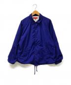 SUPREME()の古着「コーチジャケット」|ブルー