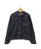 WAREHOUSE()の古着「1ST TYPEデニムジャケット」|インディゴ